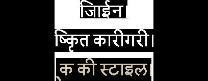 Hindi Header
