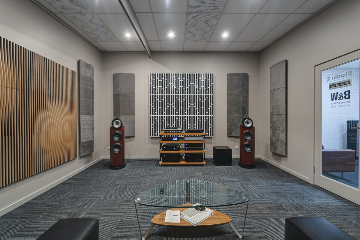 Bowers & Wilkins Demonstration room