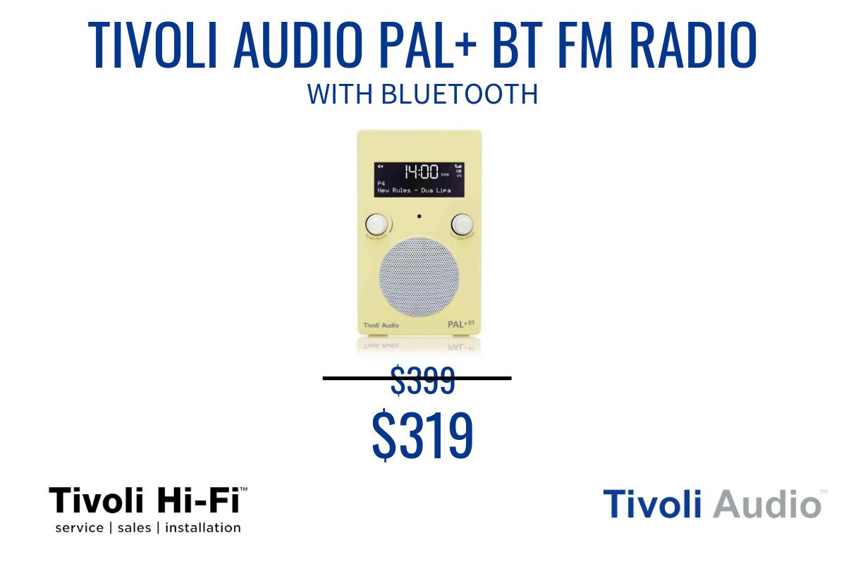 tIVOLI AUDIO PAL FM RADIO