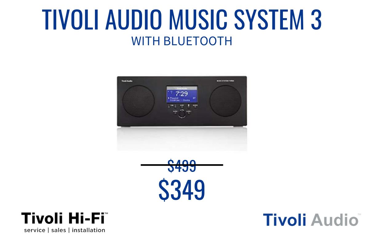 TIVOLI AUDIO MUSIC SYSTEM 3