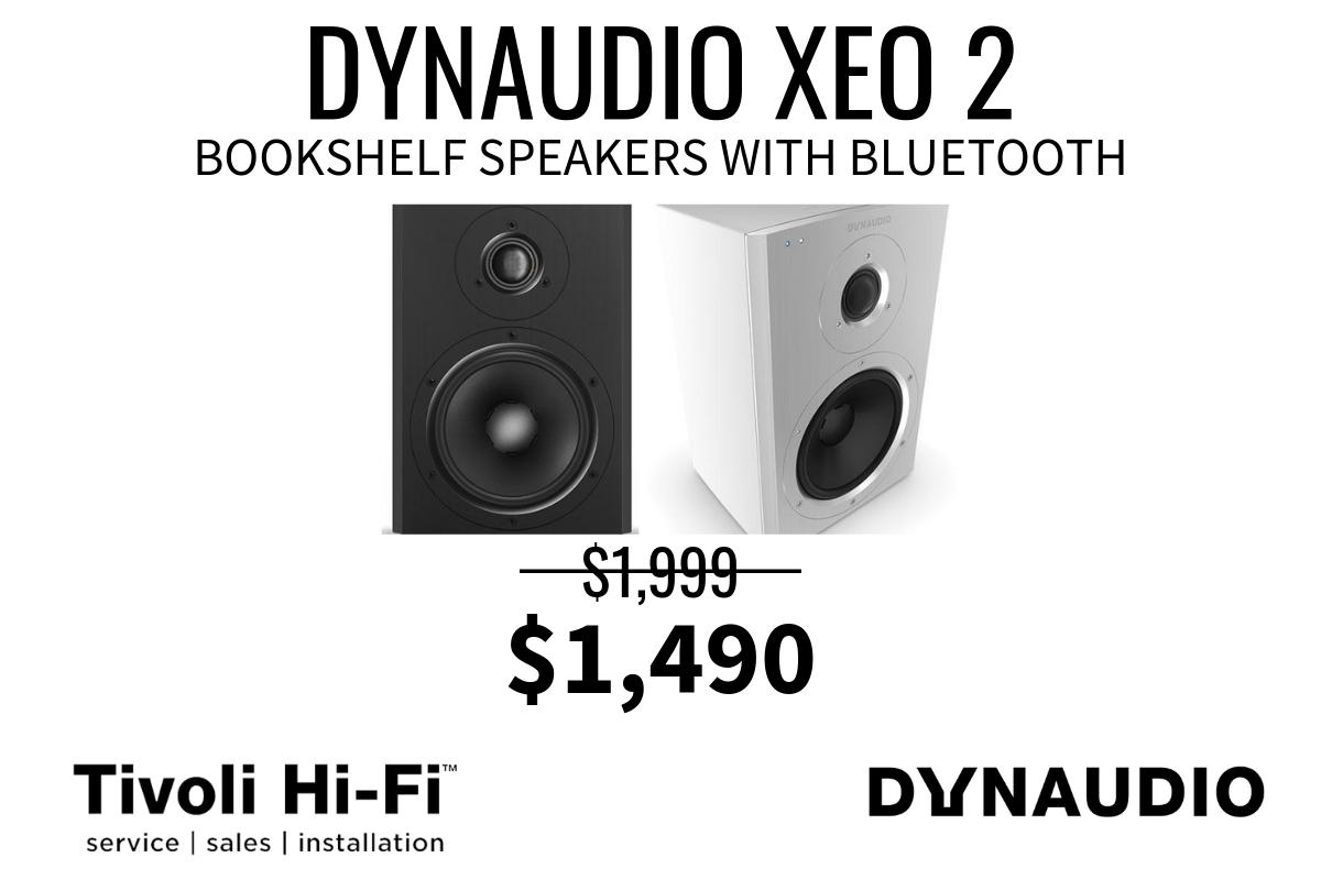 Dynaudio xeo 2 bookshe;lf speakers