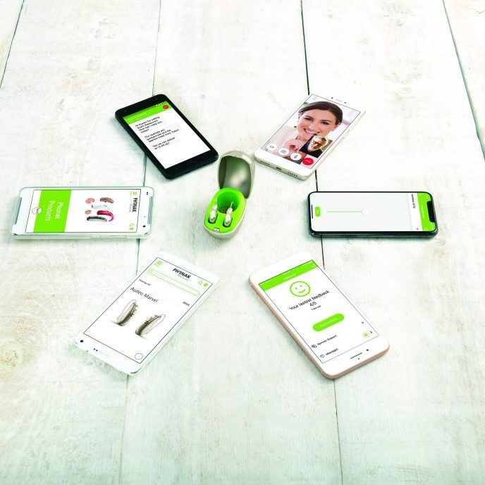 Phonak Audéo M apps