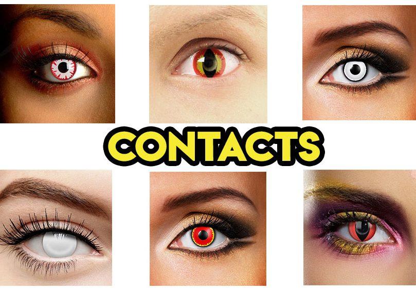 Spooky Eye Contact Lenses