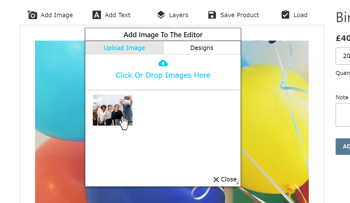 step 3 upload image 3