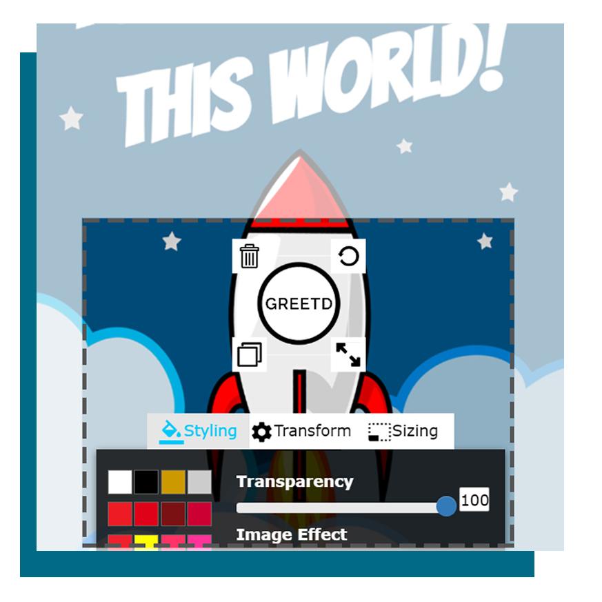 add a logo example rocket