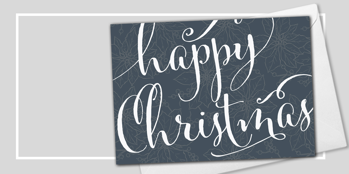 Custom Business Happy Christmas Cards