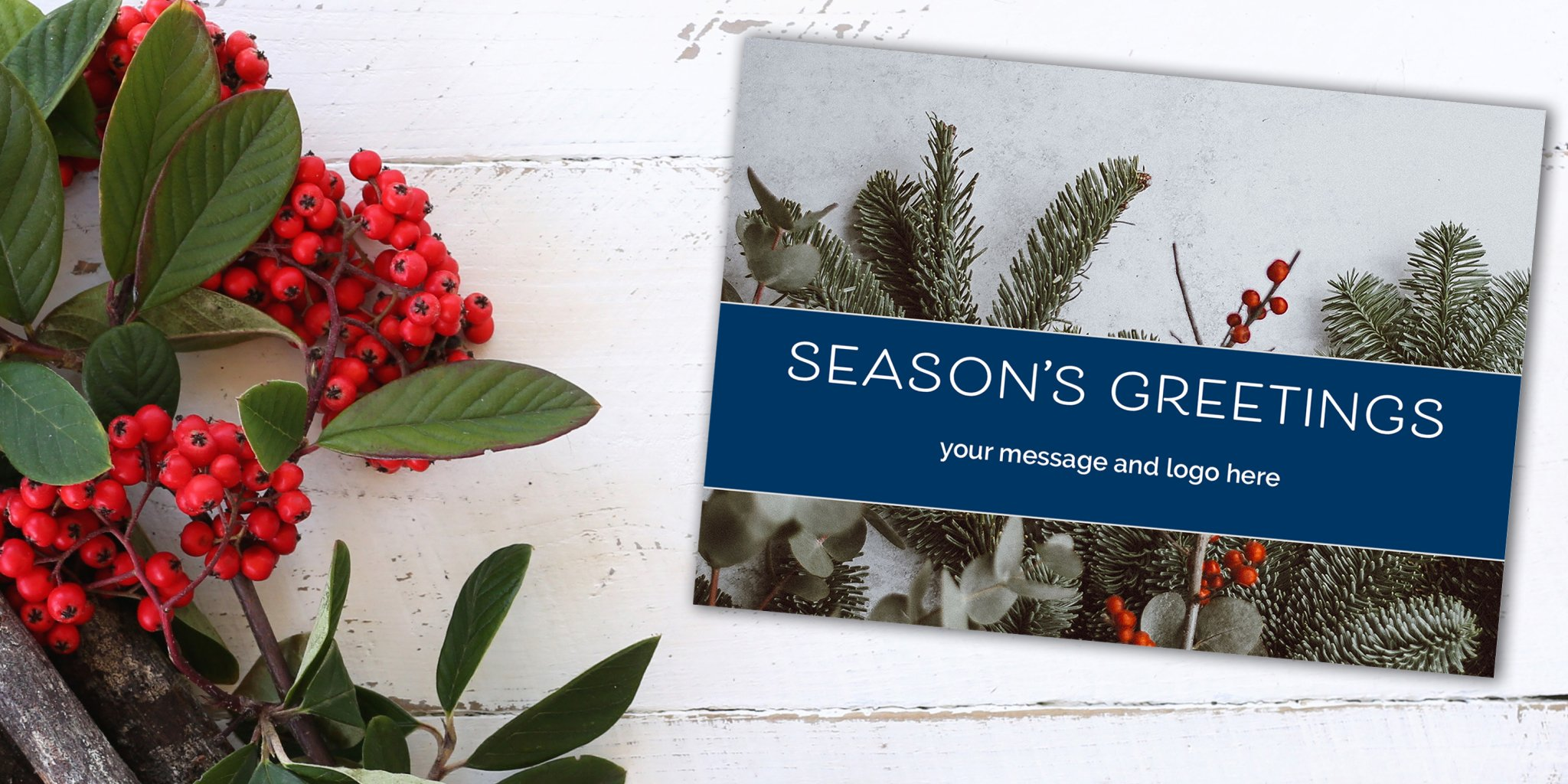 Personalised Corporate Christmas Cards