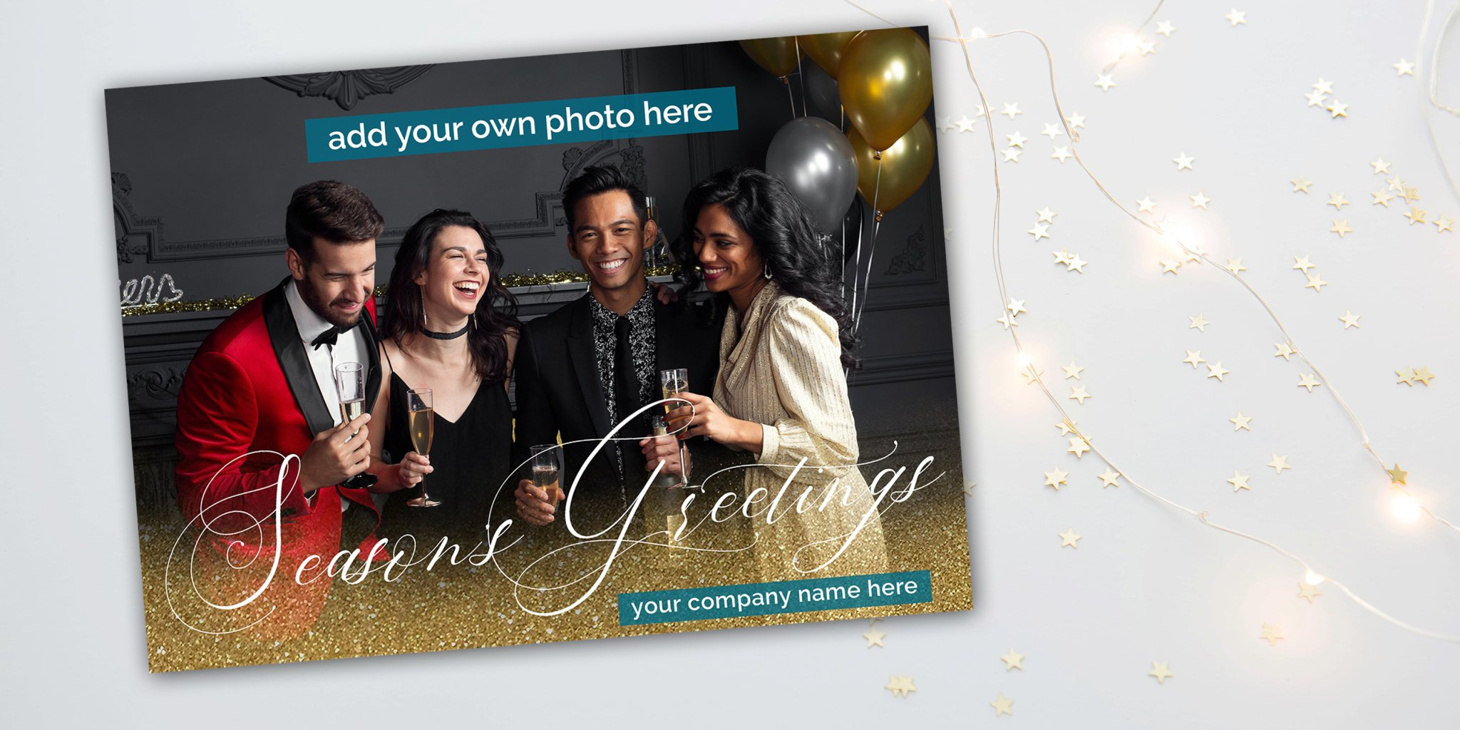 Custom Photo Christmas Cards Corporate