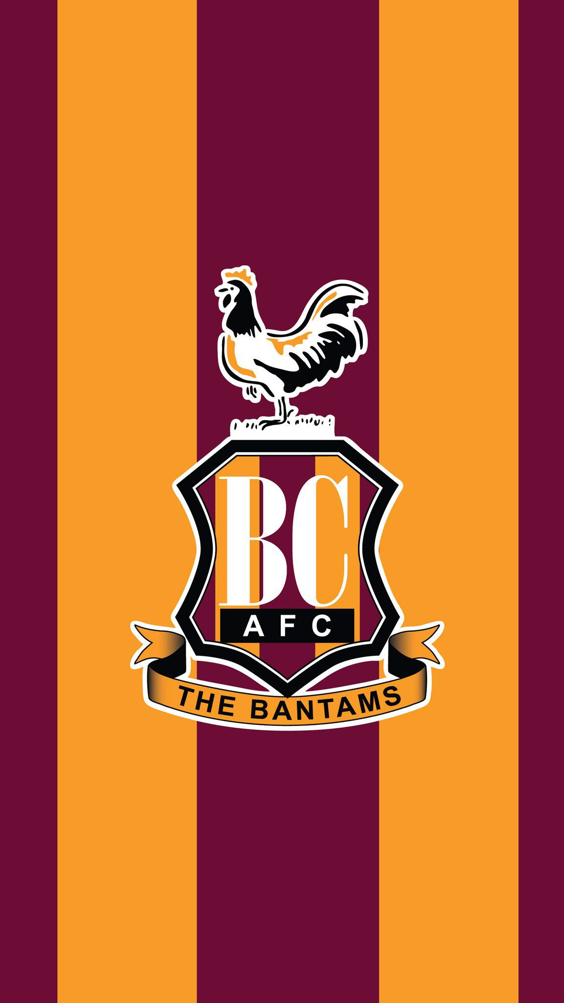 bradford city stripes