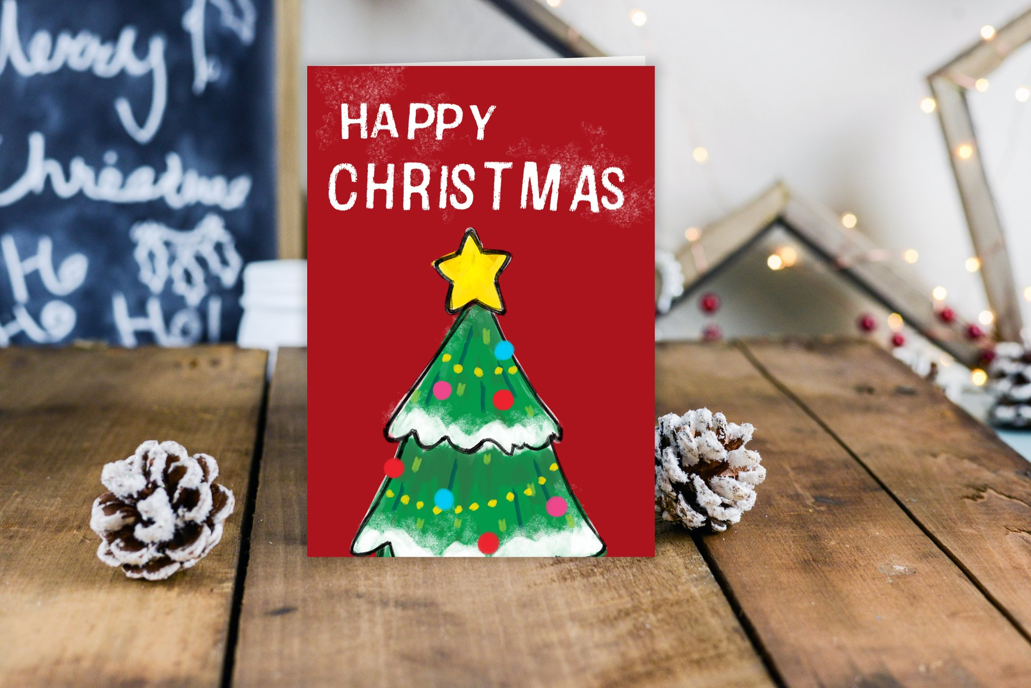 Custom Corporate Christmas Cards