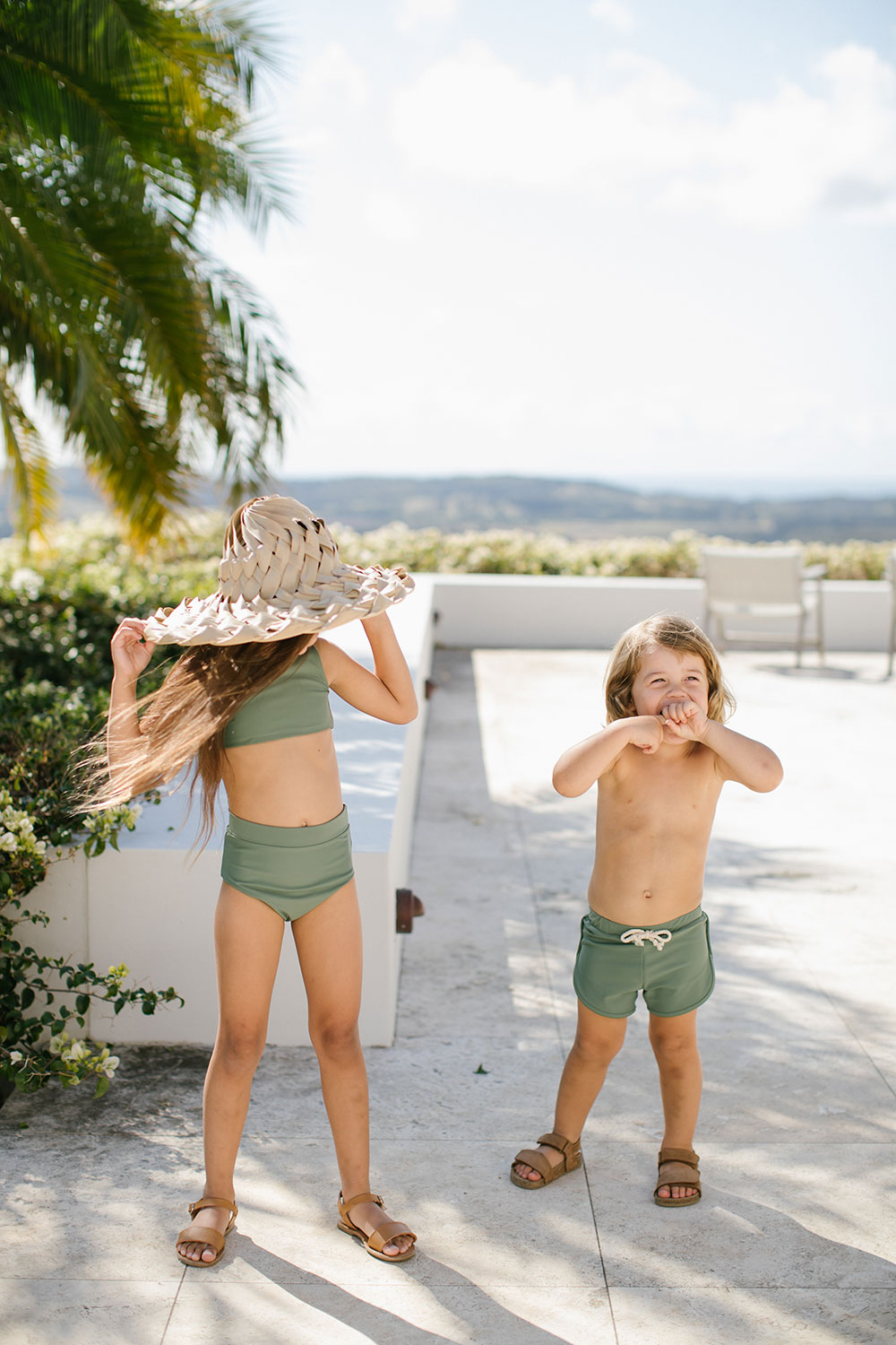 Ina Swim | Arla Bikini + Mesa Trunks