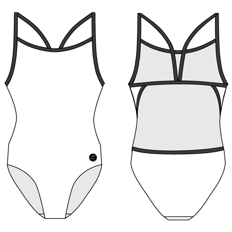 1PT - THIN STRAP ONE PIECE