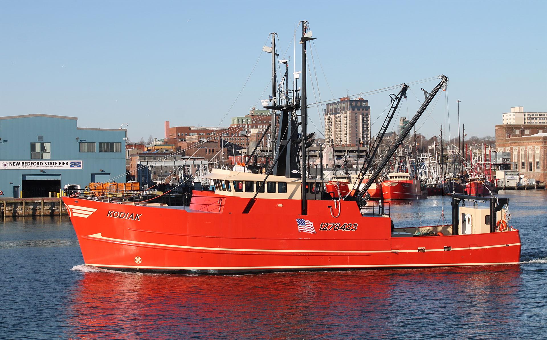 F/V Kodiak, one of many in our fleet.