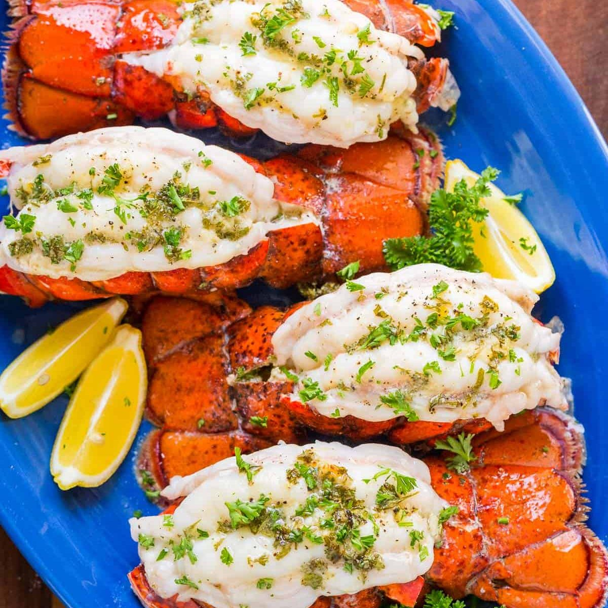 Broiled Lobster Tails Recipe + How to Butterfly