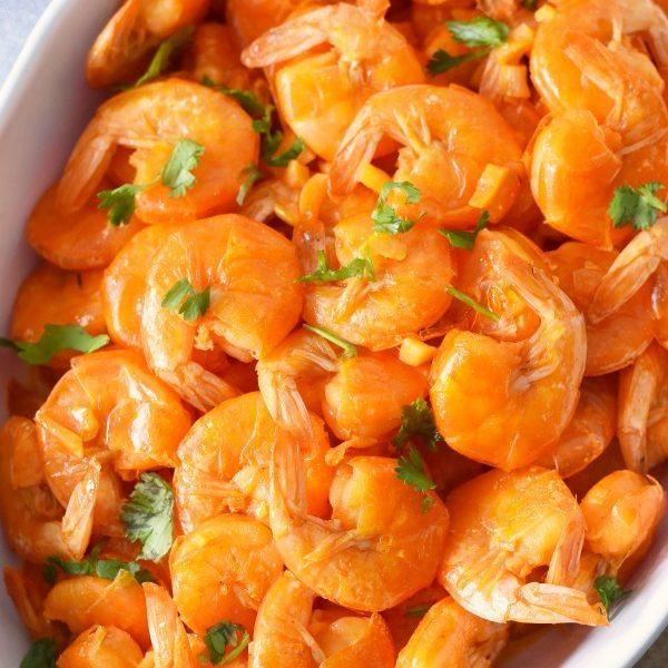Portuguese Shrimp Mozambique Recipe with Rice
