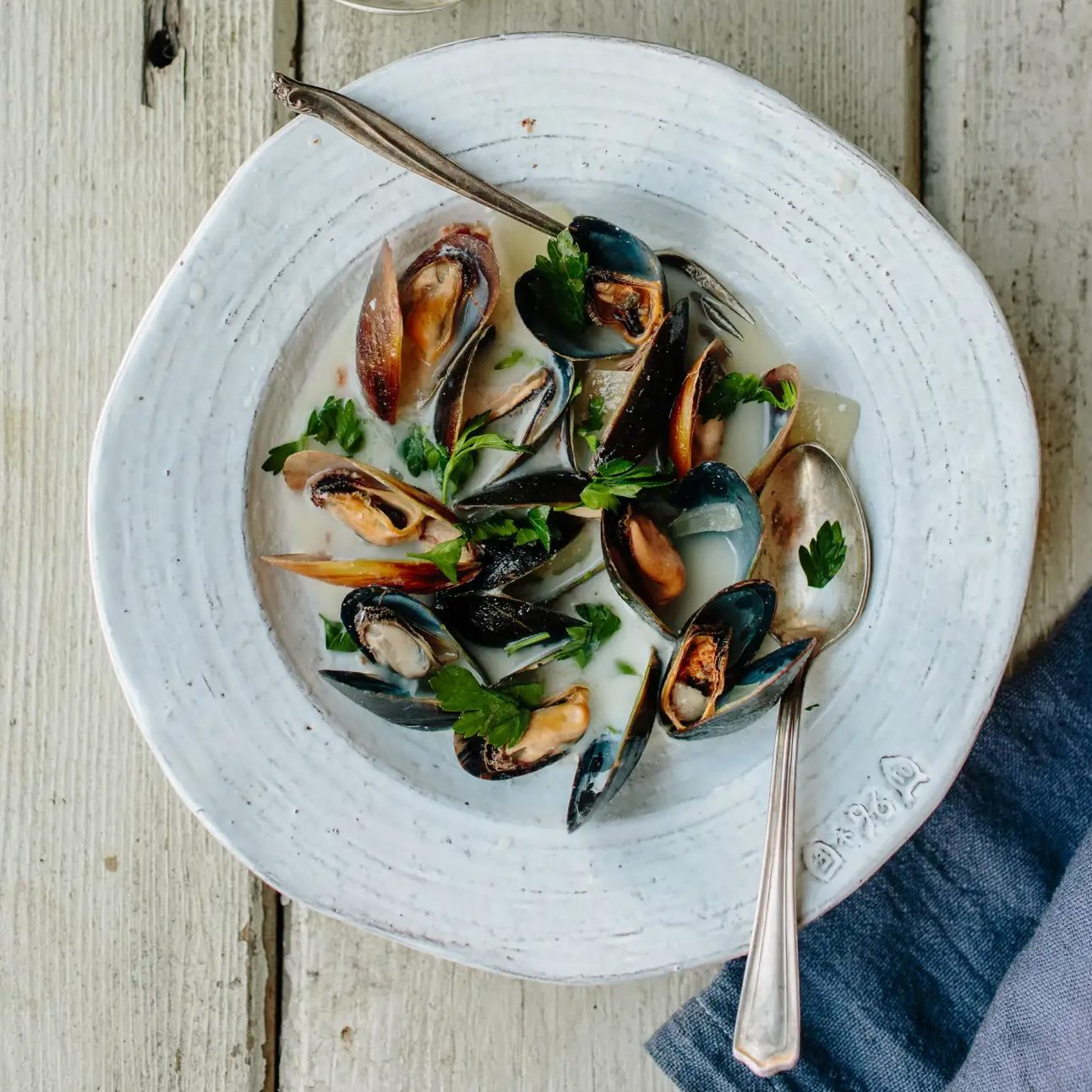 Donal Skehan's Mussels in Irish Cider