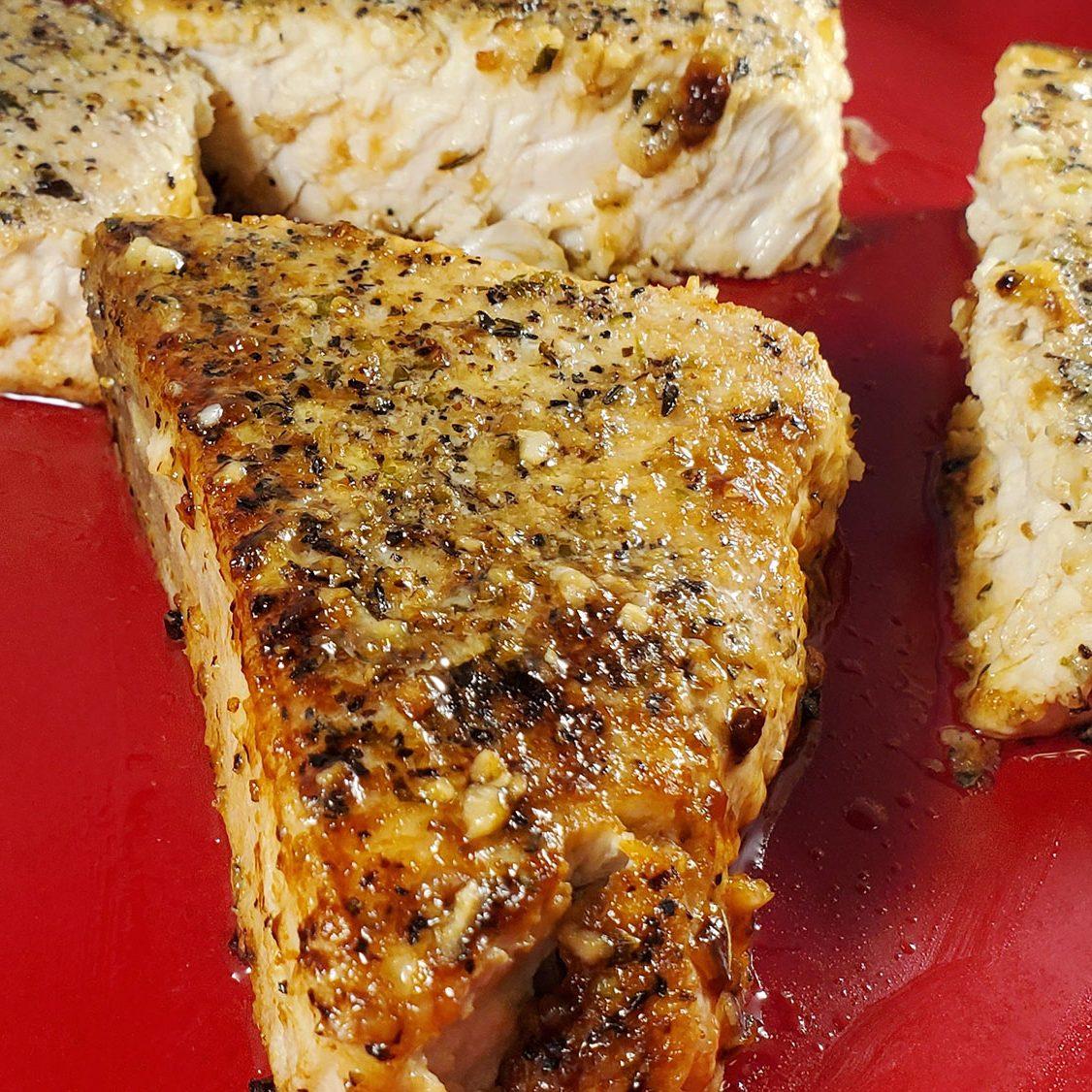 Italian Baked Swordfish