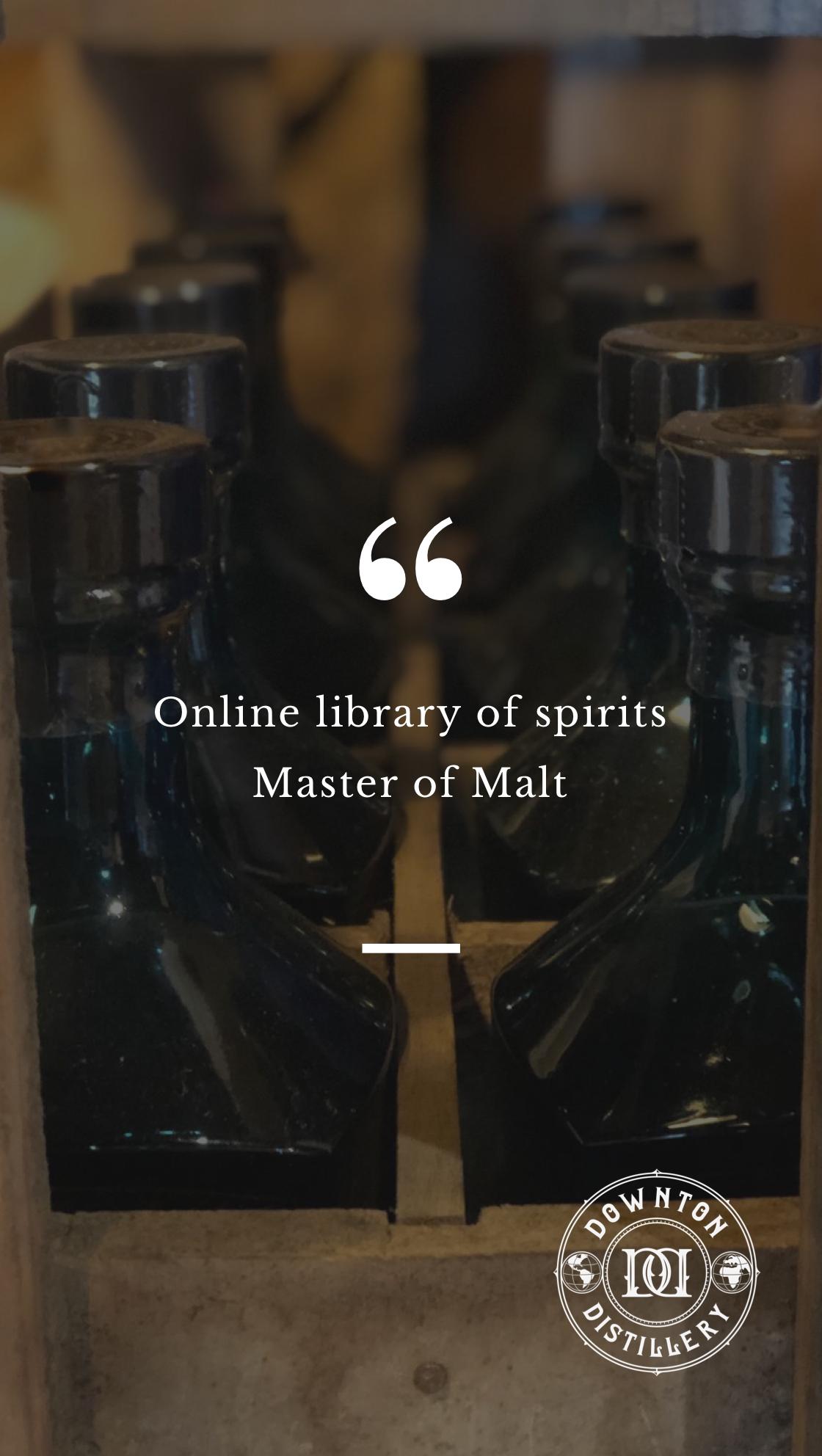 Master of Malt Downton Distillery