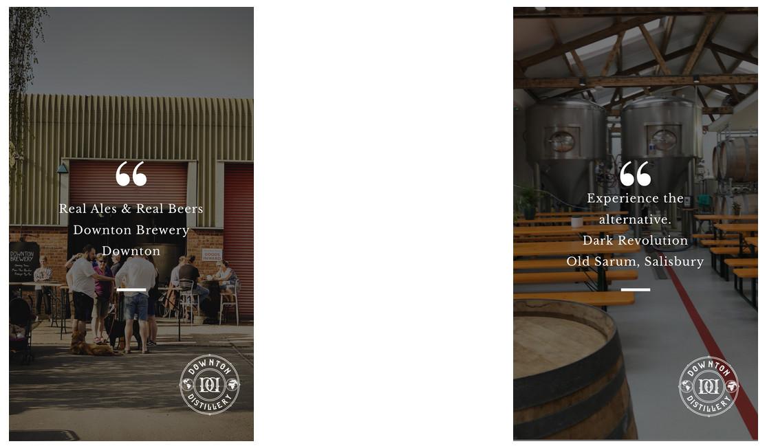 Downton Brewery and Dark Revolution