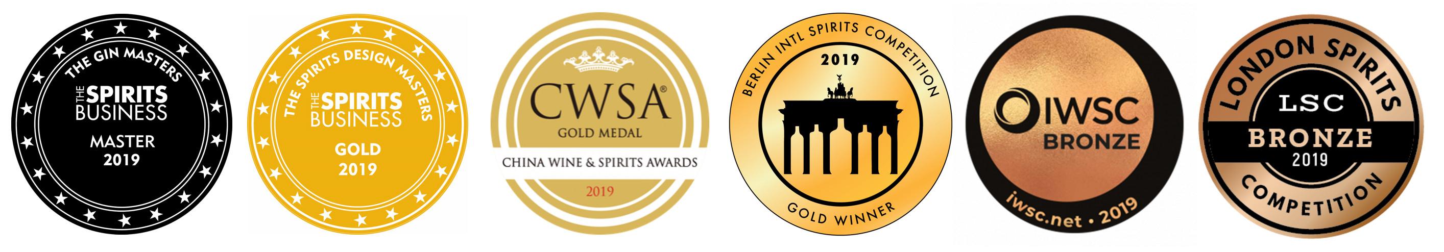 Downton Distillery Awards 2019