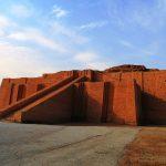 Sumerian temple, Iraq