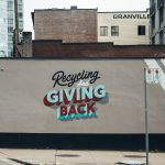 Recycle and give back