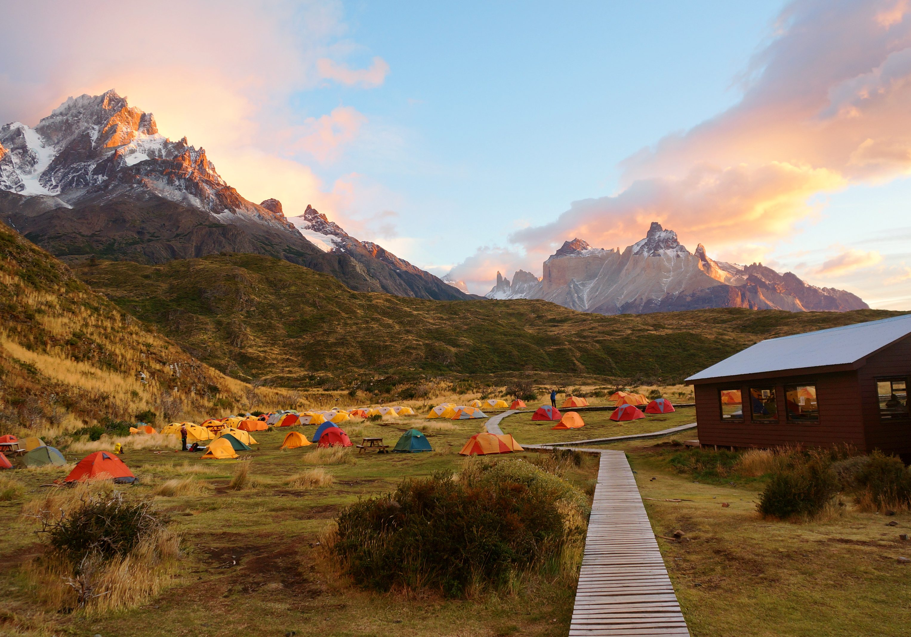 Camping in Torres Del Paine