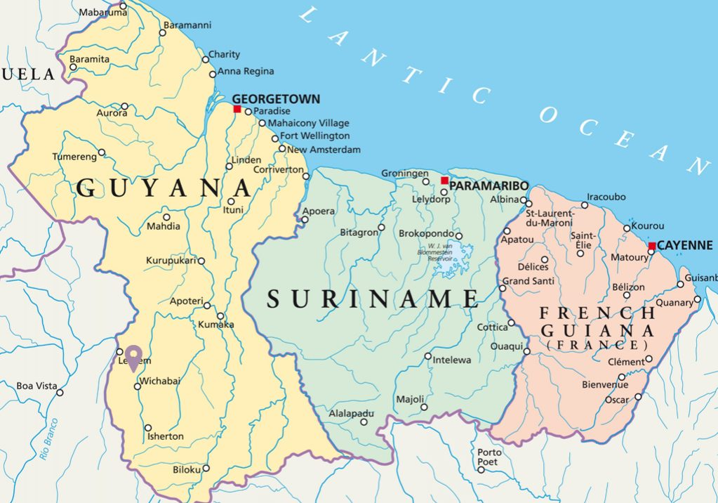 Guyana, Mountains, Amazon,