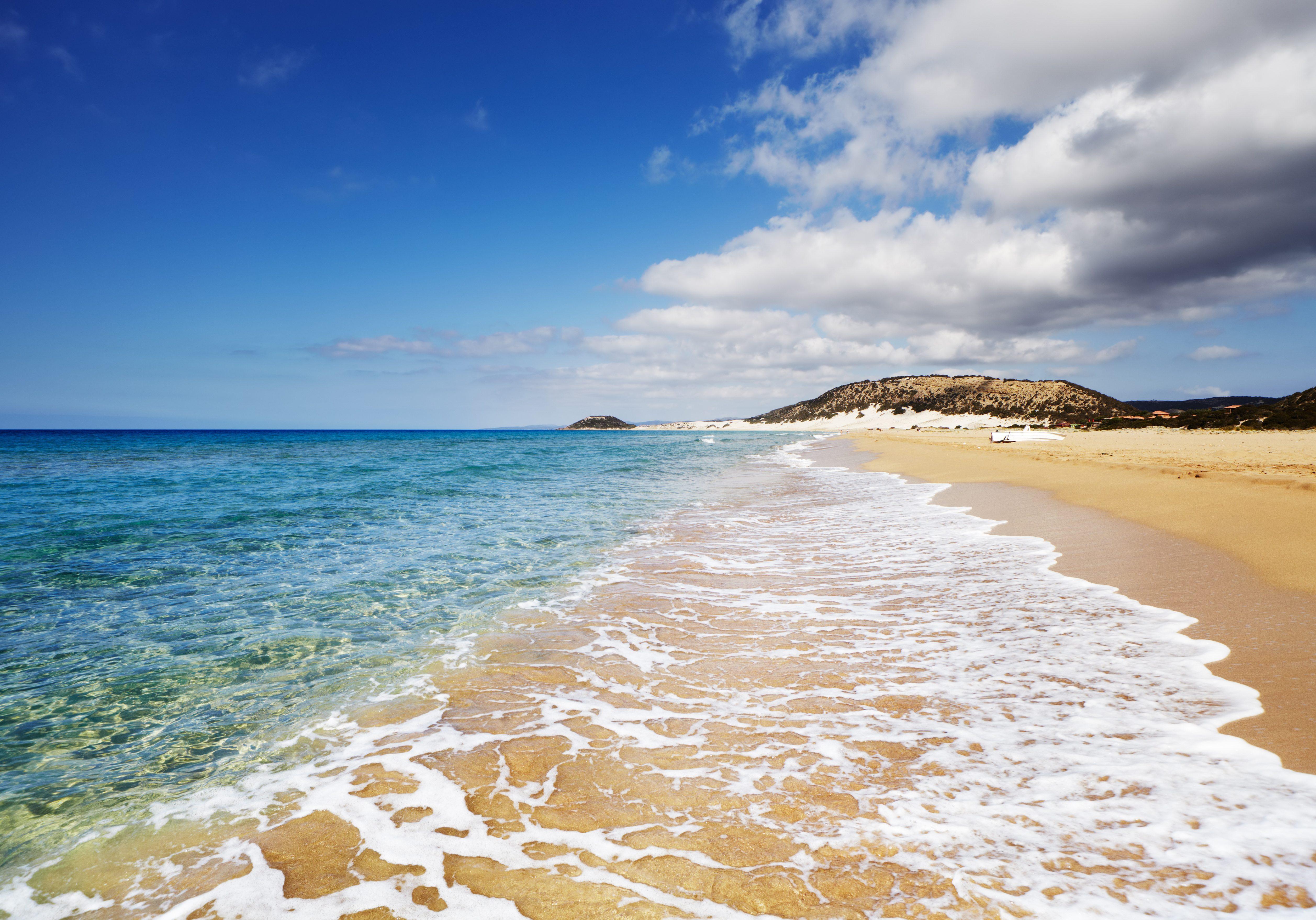 Golden Beach the best beach of Cyprus, Karpas Peninsula, North Cyprus