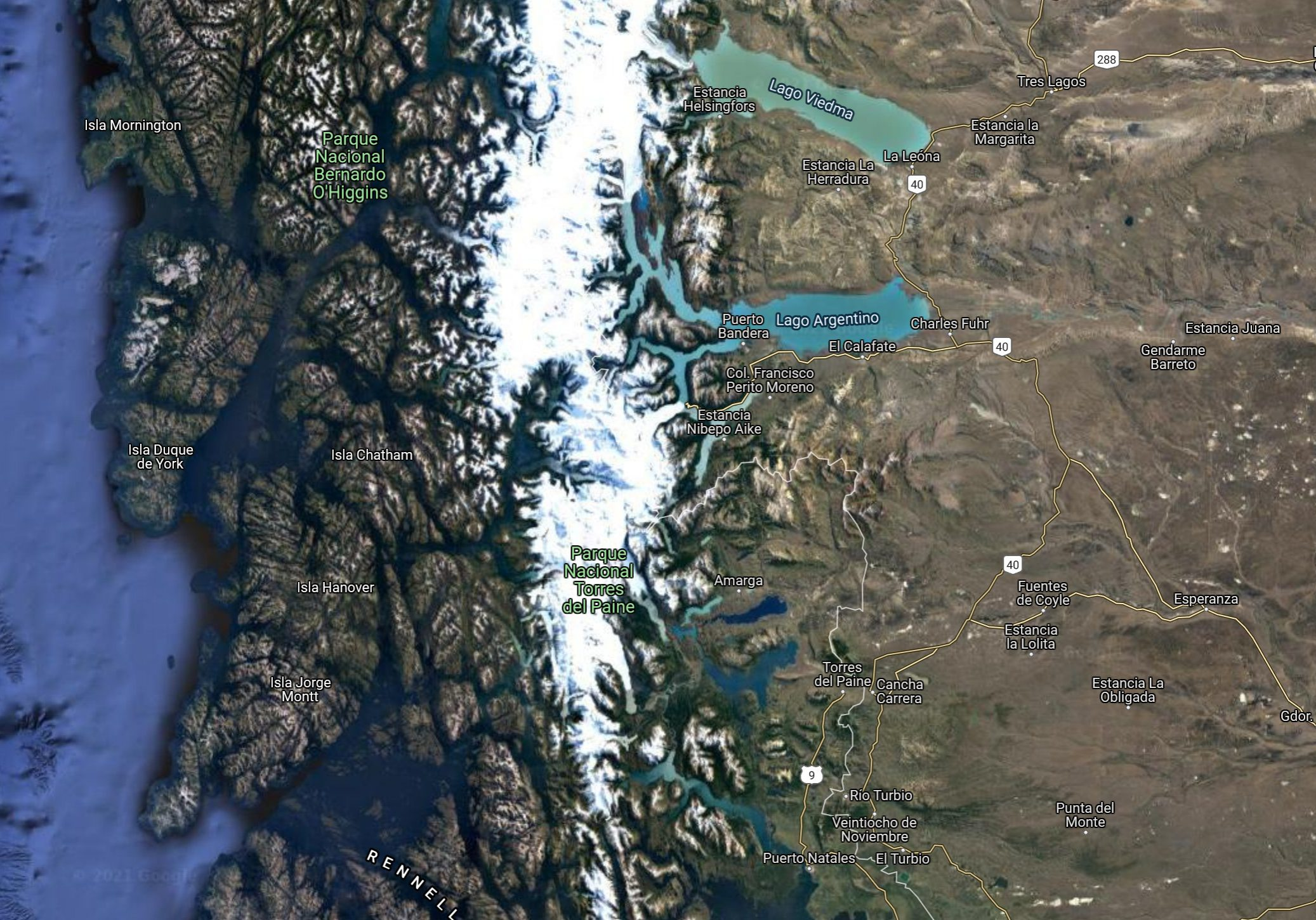 Patagonia and National Park of Torres Del Paine