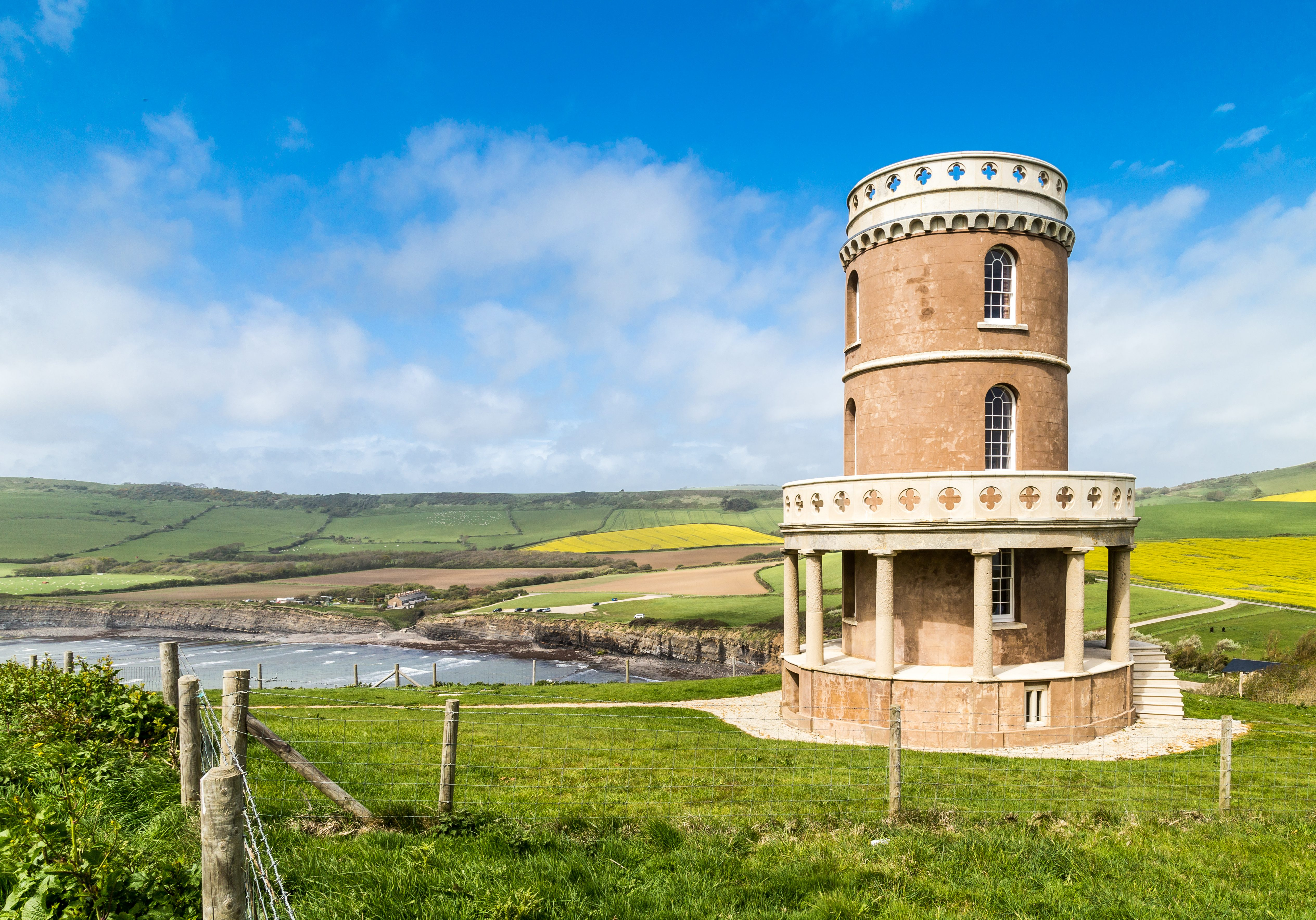 The Clavell Tower, Kimmeridge Bay