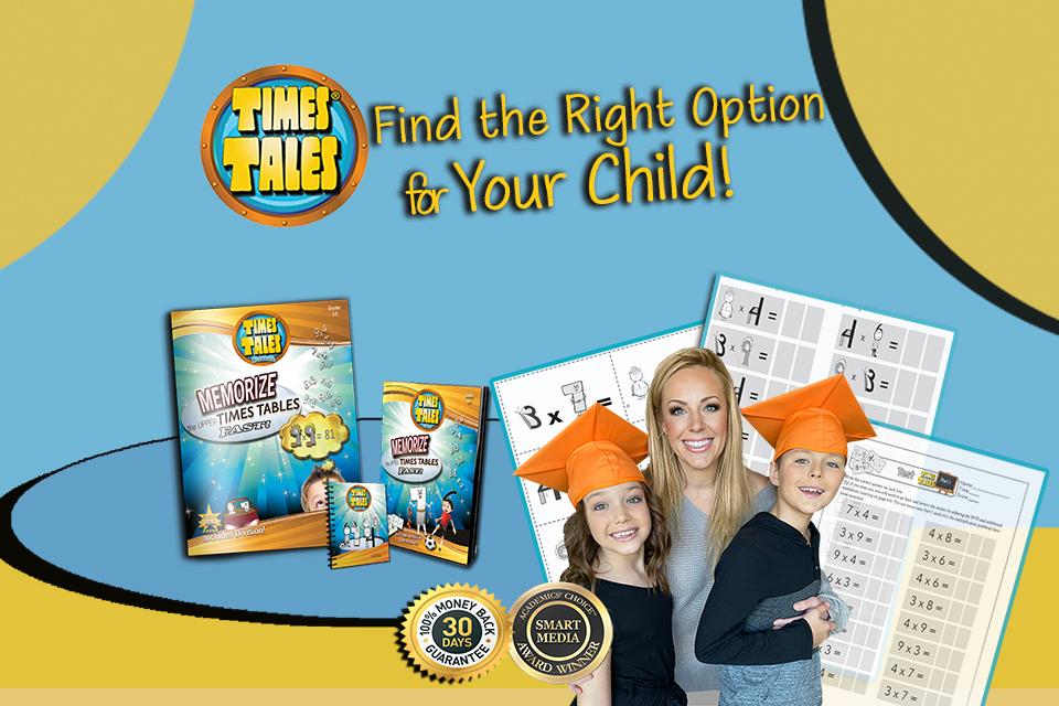 Find the right multiplication program for your child