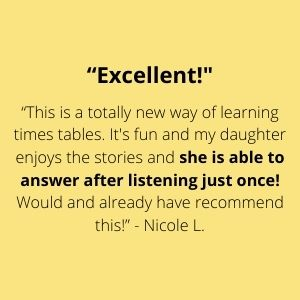 Excellent! She is able to answer after listening just once!