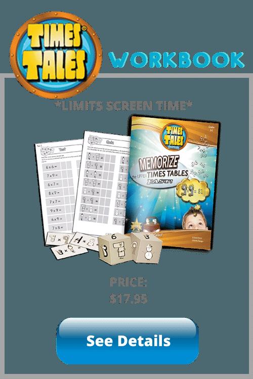 Times Tales Workbook multiplication program