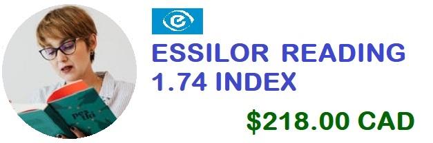 ESSILOR Reading 1.74 banner