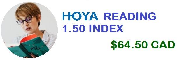 HOYA Reading 1.50 banner