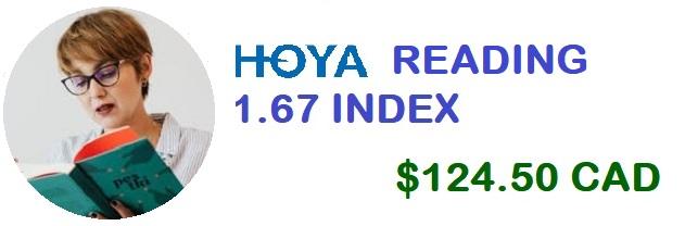 HOYA Reading 1.67 banner