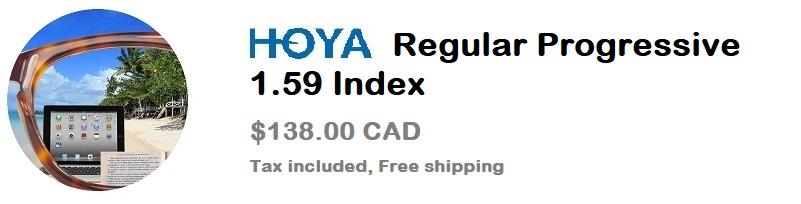 Hoya Regular 1.59 banner