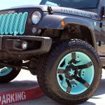 2013 Gray & Tiffany Blue Rubicon JK Jeep