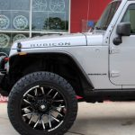2016 Silver Rubicon JK Jeep