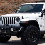 2018 White Sahara JL Jeep
