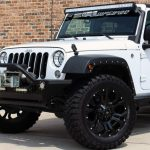 2016 White Sport JK Jeep