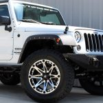 2015 White Sport JK Jeep