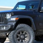 2018 Satin Black Wrap Sport JL Jeep