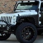 2018 White Rubicon JK Jeep