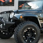 2016 Black Sahara JK Jeep
