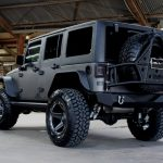 2017 jeep wrangler unlimited jk two tone kevlar left rear angle