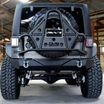2017 jeep wrangler unlimited jk two tone kevlar rear angle