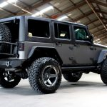 2017 jeep wrangler unlimited jk two tone kevlar right rear angle