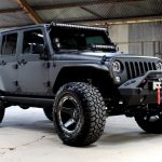 2017 jeep wrangler unlimited jk two tone kevlar right front angle